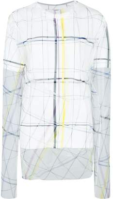 Y/Project layered graphic top
