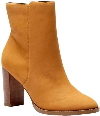 Sole Society Leather Ankle Boots - Micah