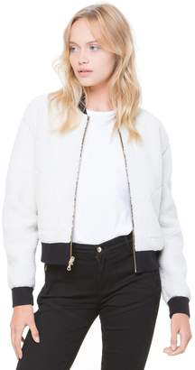 Juicy Couture Velour Reversible Sherpa Jacket