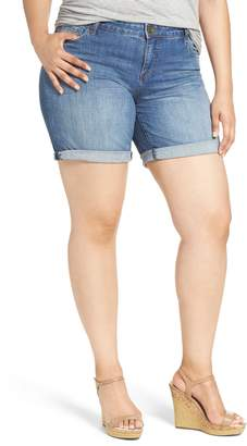 KUT from the Kloth Catherine Denim Boyfriend Shorts