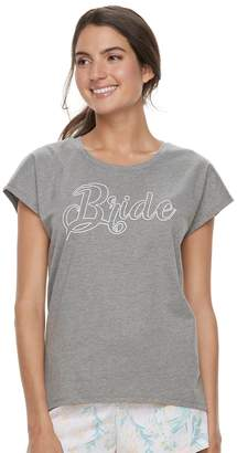 Apt. 9 Women's Bridal Graphic Tee