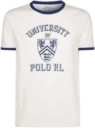 Polo Ralph Lauren University Slogan T-Shirt