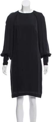 Martin Grant Silk Knee-Length Dress