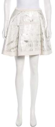 ICB Metallic Mini Skirt