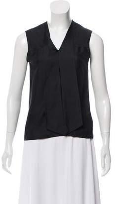 Cacharel Sleeveless Silk Top