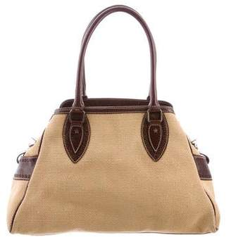 Fendi Zucca-Paneled Shoulder Bag