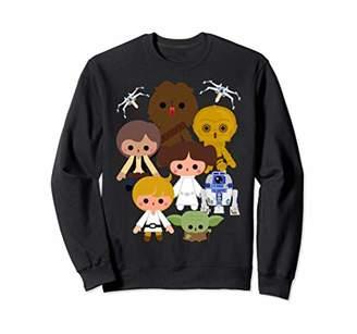 Star Wars Simple Cartoon Group Shot Sweatshirt