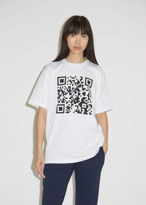 Vetements QR Code T-Shirt