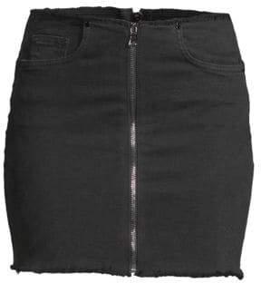 Cotton Citizen Zipper Mini Skirt