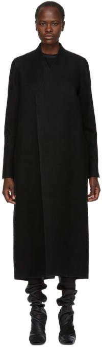 Black Camel Hair Museum Coat