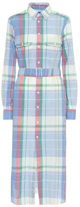 Polo Ralph Lauren Checked cotton shirt dress