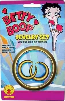 Rubie's Costume Co Betty Boop Bracelet & Earrings Set