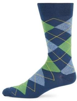 Jaspe Combed Cotton Mid-Calf Socks $20 thestylecure.com