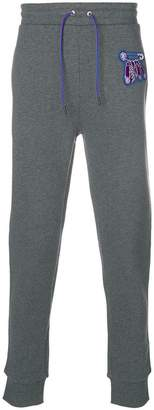 Versus embroidered safety-pin sweatpants