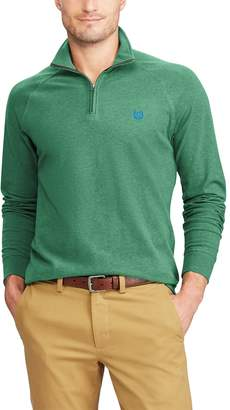 Chaps Big & Tall Regular-Fit Quarter-Zip Stretch Pullover