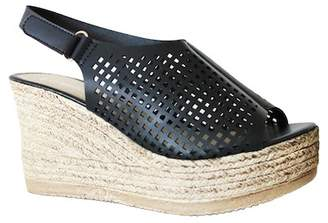 Refresh Milada Perforated Slingack Wedge Sandal