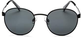 Polaroid Polarized Round Sunglasses, 50mm