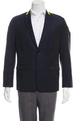 Christian Dior Virgin Wool Pinstriped Blazer