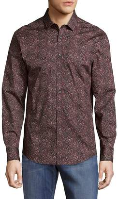 Vince Camuto Men's Two-Toned Button-Down Shirt
