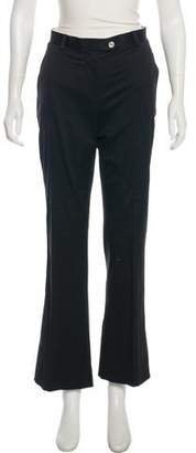 Kiton Mid-Rise Flared Pants