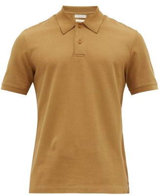 fc4ffba9f2 Bottega Veneta Relaxed Fit Cotton Pique Polo Shirt - Mens - Camel