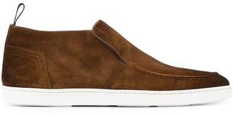 Santoni slip-on boots