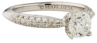 Marchesa 18K Diamond Engagement Ring