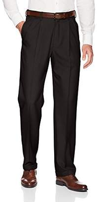 Haggar Men's Big and Tall Premium Comfort Classic Fit Pleat Front Pant