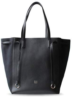 "Parisa Nyc Leather Tote Bag ""Addicted"""