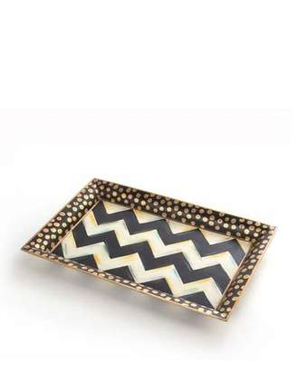 MacKenzie-Childs Zig Zag Small Tray