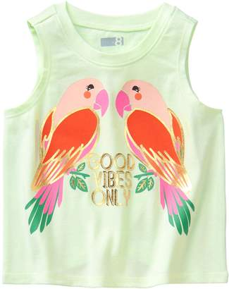 Crazy 8 Crazy8 Toddler Parrot Tank