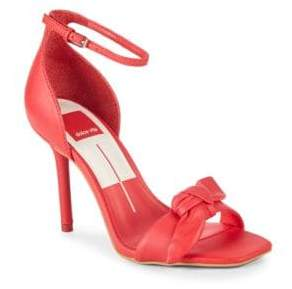 Dolce Vita Helana Bow Leather Sandals