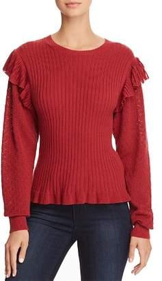 Rebecca Taylor Mixed-Stitch Sweater