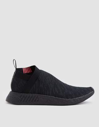 adidas NMD_CS2 Primeknit Sneaker in Core Black