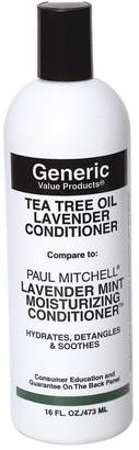 Paul Mitchell Generic Value Products Tea Tree Oil Lavender Conditioner Compare to Lavender Mint Moisturizing Conditioner