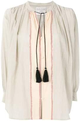 Forte Forte tassel tie neck tunic