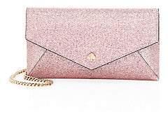 Kate Spade Women's Burgess Glitter Leather Clutch