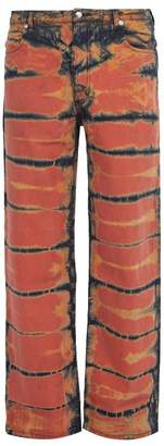 Eckhaus Latta - Shibori Dyed Jeans - Mens - Multi