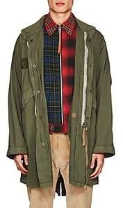 424xALPHAxSLAMJAM 424XALPHAXSLAMJAM MEN'S COTTON MILITARY PARKA