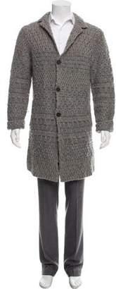 John Varvatos Wool Knit Cardigan