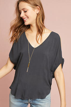 Cloth & Stone Open-Shoulder Tee $78 thestylecure.com