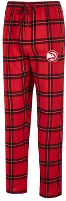 Concepts Sport Men Atlanta Hawks Homestretch Flannel Sleep Pants