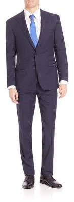 Ralph Lauren Purple Label Micro Textured Suit