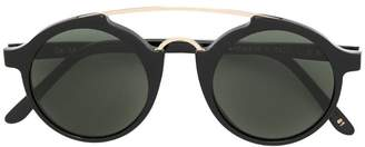 L.G.R double bridge round sunglasses