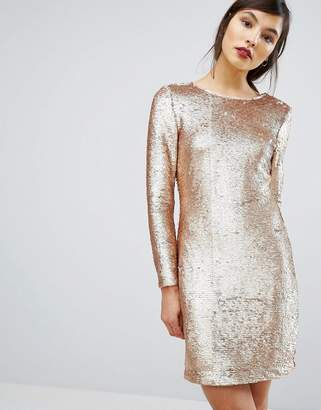 Oasis Sequin Tube Dress $88 thestylecure.com