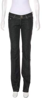 Thomas Wylde Embellished Low-Rise Jeans w/ Tags
