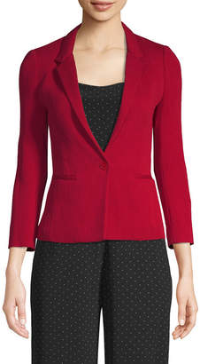 Maje Notch Lapel Blazer