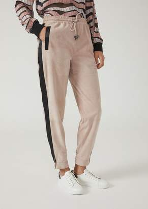 Emporio Armani Leather Pants