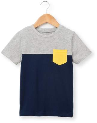 La Redoute Collections Two-Tone T-Shirt, 3-12 Years