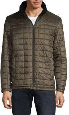 Tumi Quilted Long-Sleeve Jacket